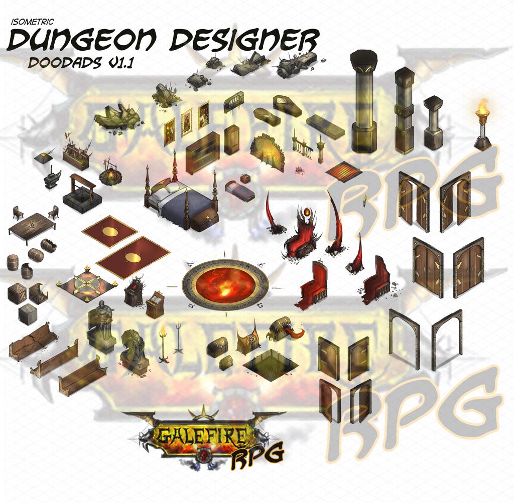 Isometric Dungeon Designer GRPG